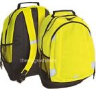 High Visibility Backpack Rucksack Pack Cycle Bike Hi Viz Vis Fluorescent Yellow