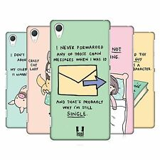 HEAD CASE DESIGNS REASONS WHY I'M SINGLE HARD BACK CASE FOR SONY PHONES 2
