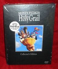 MONTY PYTHON AND THE HOLY GRAIL DVD BOX SET,NEW.RARE AND OUT OF PRINT