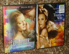 EVER AFTER PLUS THE TIME TRAVELER'S WIFE DVD, NEW AND SEALED, ROMANTIC FILMS