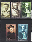 Malta 2002 Famous Men MNH Set SC # 1092-1096