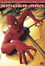 SPIDER-MAN DVD 2-DISC SET 2002 PRE-OWNED EXCELLENT FREE SHIPPING