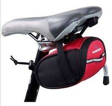 ROSWHEEL COMPACT PADDED SEAT BIKE BICYCLE BAG - (Red)