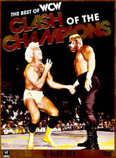 NEW!! WWE: Best of WCW Clash of the Champions (DVD, 2012, 3-Disc Set)