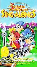 Alvin and the Chipmunks  - Working on the Railroad (VHS,...