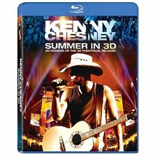 Kenny Chesney SUMMER IN 3D - Blu Ray - BRAND NEW SEALED!! 2010 No Shirt Shoes
