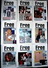 FREE APPRECIATION SOCIETY 9 ISSUES #120-128 Kossoff Rodgers Kirke Fraser