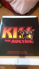 KISS The Auction Catalog Book 2000 Paramount Studio Theater Paul Stanley Gene