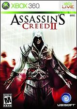 XBOX 360 ASSASSIN'S CREED II BRAND NEW VIDEO GAME