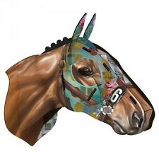 Miho Unexpected Things - Racehorse Horse Head - Wall Art - Colourful Decor