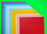 10 Sheets  A4 COLOURED CRAFT CARD   DOUBLE SIDED  CHOOSE FROM 15 COLOURS