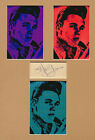 BILLY FURY signed page + POP ART style display UACCRD