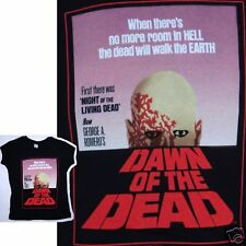 DAWN OF THE DEAD! NO MORE ROOM IN HELL BABY DOLL GIRLS SHIRT MEDIUM NEW