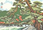 Kyoto Handicraft Centre Japanese Embroidery Japan Craft Sewing Postcard