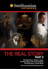 The Real Story Pt 2 Indiana Jones, The Untouchables, James Bond - DVD NEW SEALED