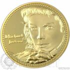 Michael Jackson Medaille Münze Goldmünze Gold 999 24 Karat verg. Fan Musik CD