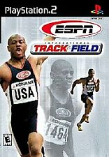 ESPN INTERNATIONAL TRACK & FIELD Sony PS2 Video Game Complete Good Shape