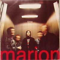 """MARION 'TIME' UK PICTURE SLEEVE 7"""" SINGLE ON RED VINYL"""