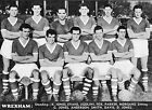 WREXHAM FOOTBALL TEAM PHOTO 1957-58 SEASON
