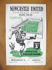 NEWCASTLE UNITED v ARSENAL 1950/1951 *VG Condition Football Programme*