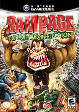 "Rampage: Total Destruction (Nintendo GameCube, 2006) ""No Cover or Booklet"""
