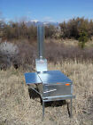 Mule Skinner Wood Camp Stove - Riley Stoves - Kit 3A