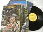 IRON MAIDEN SOMEWHERE IN TIME LP PROMOTIONAL MADE IN BRAZIL 1st PRESS 1986 RARE