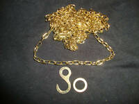 BRASS CHAIN FOR CUCKOO CLOCKS  NEW PARTS CLOCK PART #86