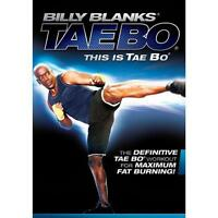 Billy Blanks This is Tae Bo Workout DVD Kickboxing Fitness Exercise Kickbox