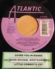 John Michael Montgomery 45 Cover You In Kisses / Little Cowboy's Cry w/ts