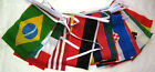 INTERNATIONAL FLAG BUNTING Polyester 32 flags 8.5m-28ft