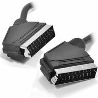 3m Scart Cable Male to Male 21 Pin Bi-Directional Lead