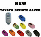 NEW TOYOTA CELICA 3 BTN KEY FOB REMOTE COVER - YELLOW