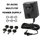 5 VOLT 3000 MA AC/DC POWER SUPPLY ADAPTER 5V 3 A/3A