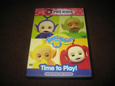 TELETUBBIES DVD TIME TO PLAY PBS KIDS MOVIE