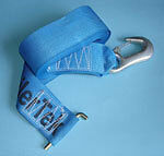 50 mm x 7 mtr Hand Winch Strap With Winch Hook
