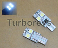 VAUXHALL VECTRA B C LED XENON WHITE SIDELIGHT BULBS