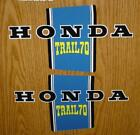 (69/123) CT70K1 MAIN FRAME EMBLEM DECAL SET CT 70 TRAIL