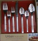 DAVID SHAW 45 PIECE FLATWARE SET URBAN RETREAT 18/10 STAINLESS NEW IN THE BOX!