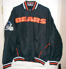 Chicago bears Reversible Cotton/Polyester Jacket Size Large NWT