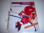 GORDIE HOWE DETROIT REDWINGS STANLEY CUP CHAMPS W/COA SIGNED 8X10 GLOSSY PHOTO