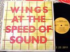 WINGS ~ Speed of Sound - Original RARE 1994 RUSSIA LP -