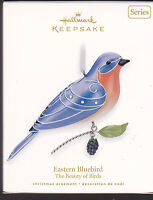 2010 Hallmark Eastern Bluebird  Beauty of Birds Series Ornament Dated NIB