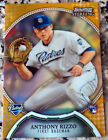 ANTHONY RIZZO 2011 Bowman Sterling GOLD Rookie Card RC 45/50 Chicago Cubs
