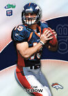Tim Tebow Etopps ** ROOKIE CARD ** IN HAND 2010 Denver Broncos * In Hand *