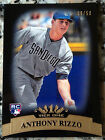 ANTHONY RIZZO 2011 Topps Tier One 1 GOLD Rookie Card RC 09/50 Chicago Cubs