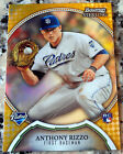 ANTHONY RIZZO 2011 Bowman Sterling GOLD Rookie Card RC 50/50 Chicago Cubs
