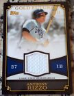 ANTHONY RIZZO 2012 Topps GOLD Futures Jersey Rookie Card RC 22/50 Chicago Cubs