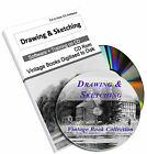 76 Sketching Drawing Vintage Books Artist Art Painting Sketch Pencil Design DVD