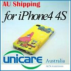 Cartoon SpongeBob SquarePants Hard Back Skin Case Cover For iPhone 4 4G 4S 11